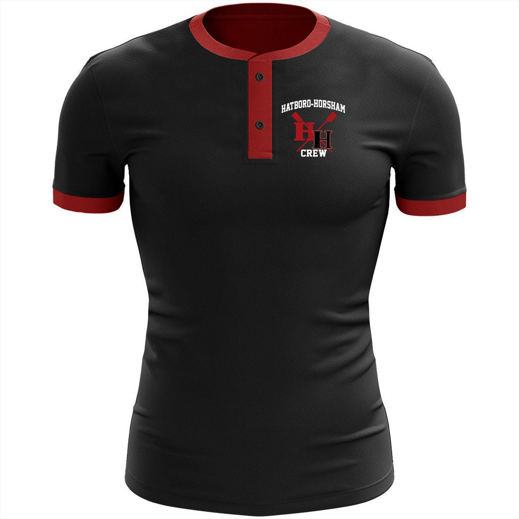 Hatboro Horsham Crew Uniform Henley Shirt