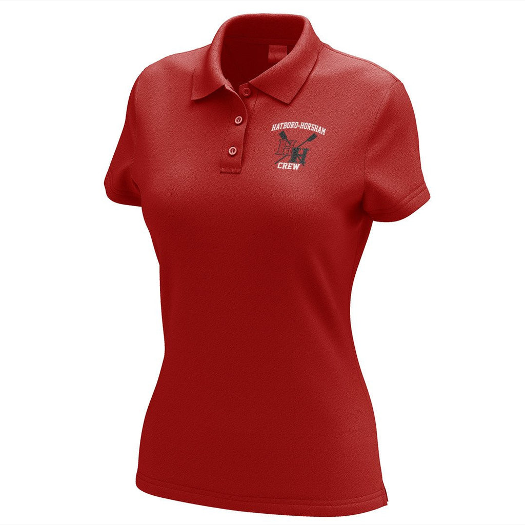 Hatboro Horsham Crew Embroidered Performance Ladies Polo