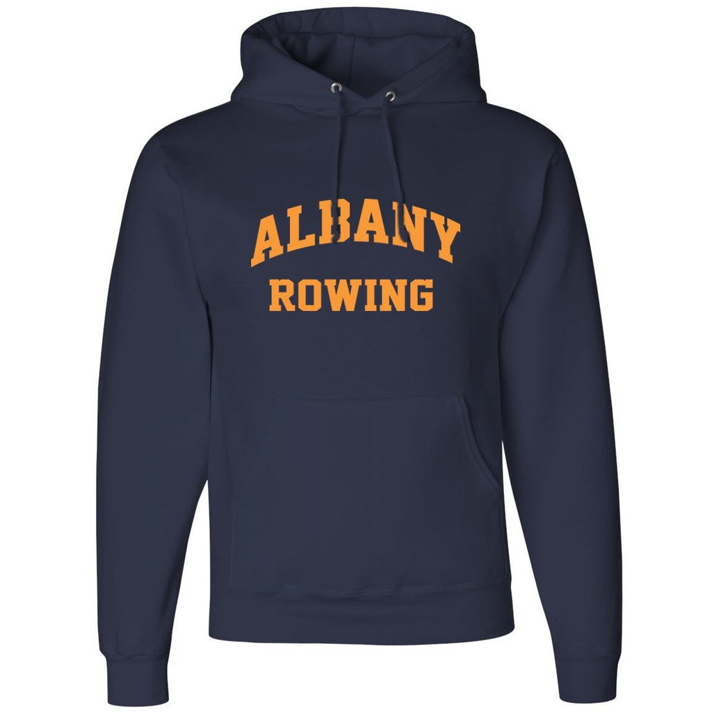 50/50 Hooded Albany Rowing Center Pullover Sweatshirt