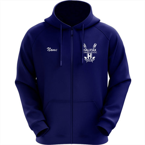50/50 Hooded Halifax Rowing Association Pullover Full Zip Sweatshirt