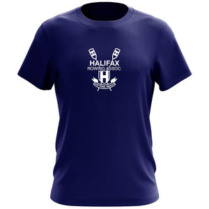 100% Cotton Halifax Rowing Association Team Spirit Short Sleeve T-Shirt