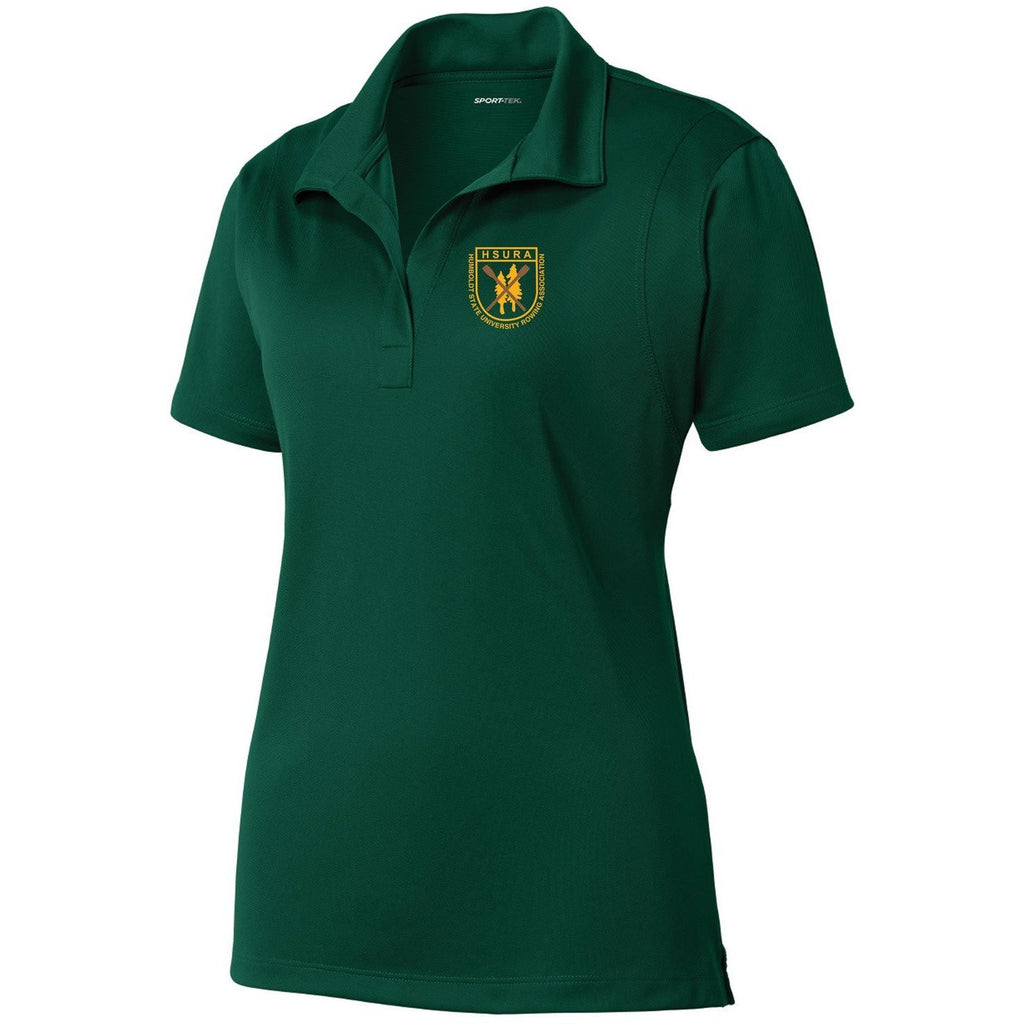 Humboldt State University Embroidered Performance Ladies Polo