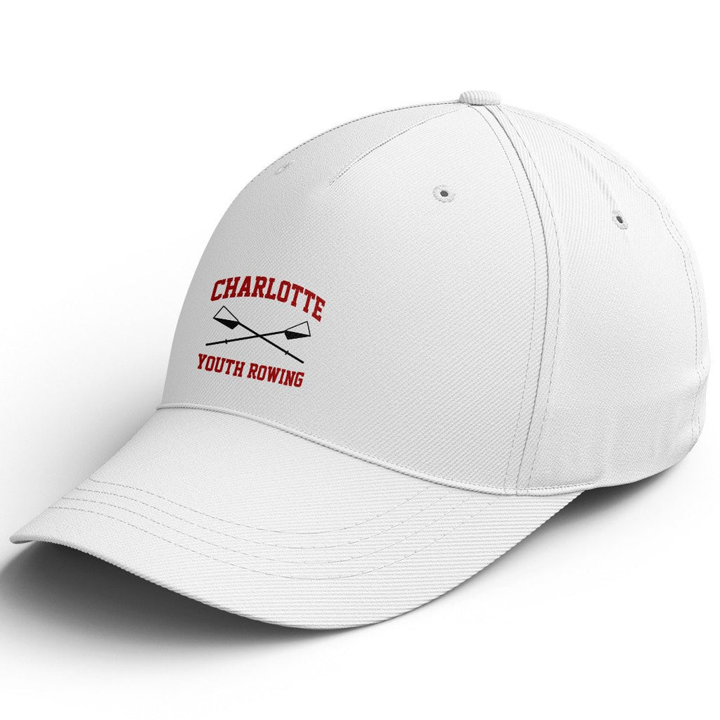 Official Charlotte Youth Rowing Club Cotton Twill Hat