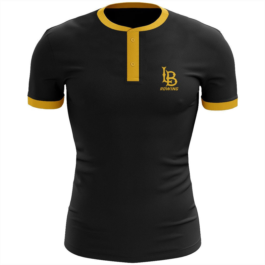 Long Beach Rowing Uniform Henley Shirt