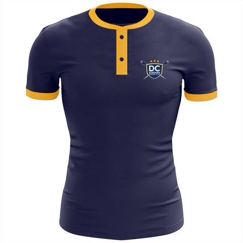 DC Strokes Rowing Club Uniform Henley Shirt