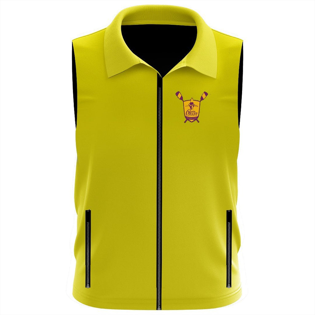 Gentle Giant Rowing Club Team Nylon/Fleece Vest