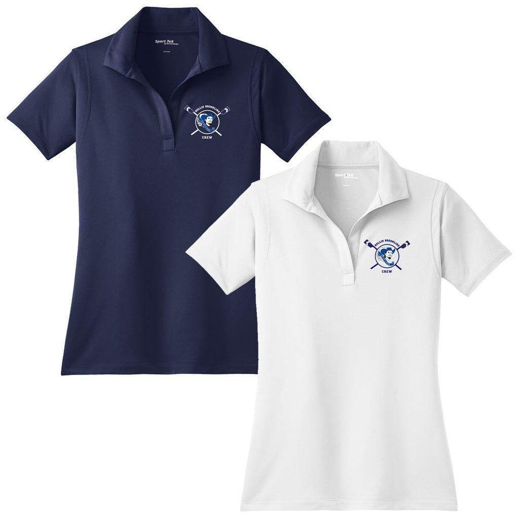 Hollis Brookline Crew Embroidered Performance Ladies Polo