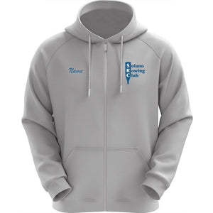 50/50 Hooded Solano Rowing Club Full Zipper Sweatshirt