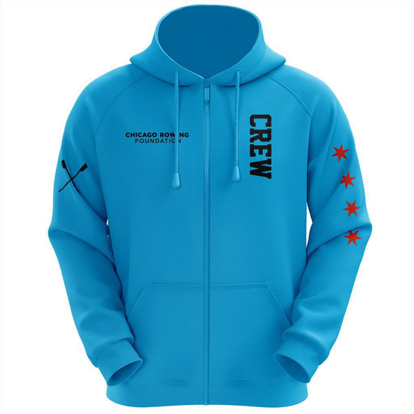4e659a268 Chicago Rowing Foundation Turquoise Hoodie – SewSporty - Team Athletic Gear  & Rowing Apparel