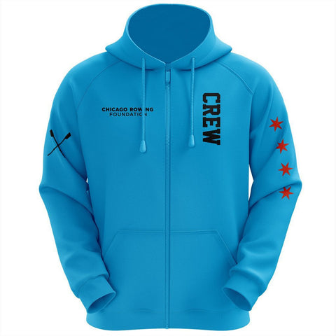 Chicago Rowing Foundation Turquoise Hoodie