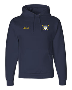 50/50 Hooded MT Lebanon Rowing Pullover Sweatshirt