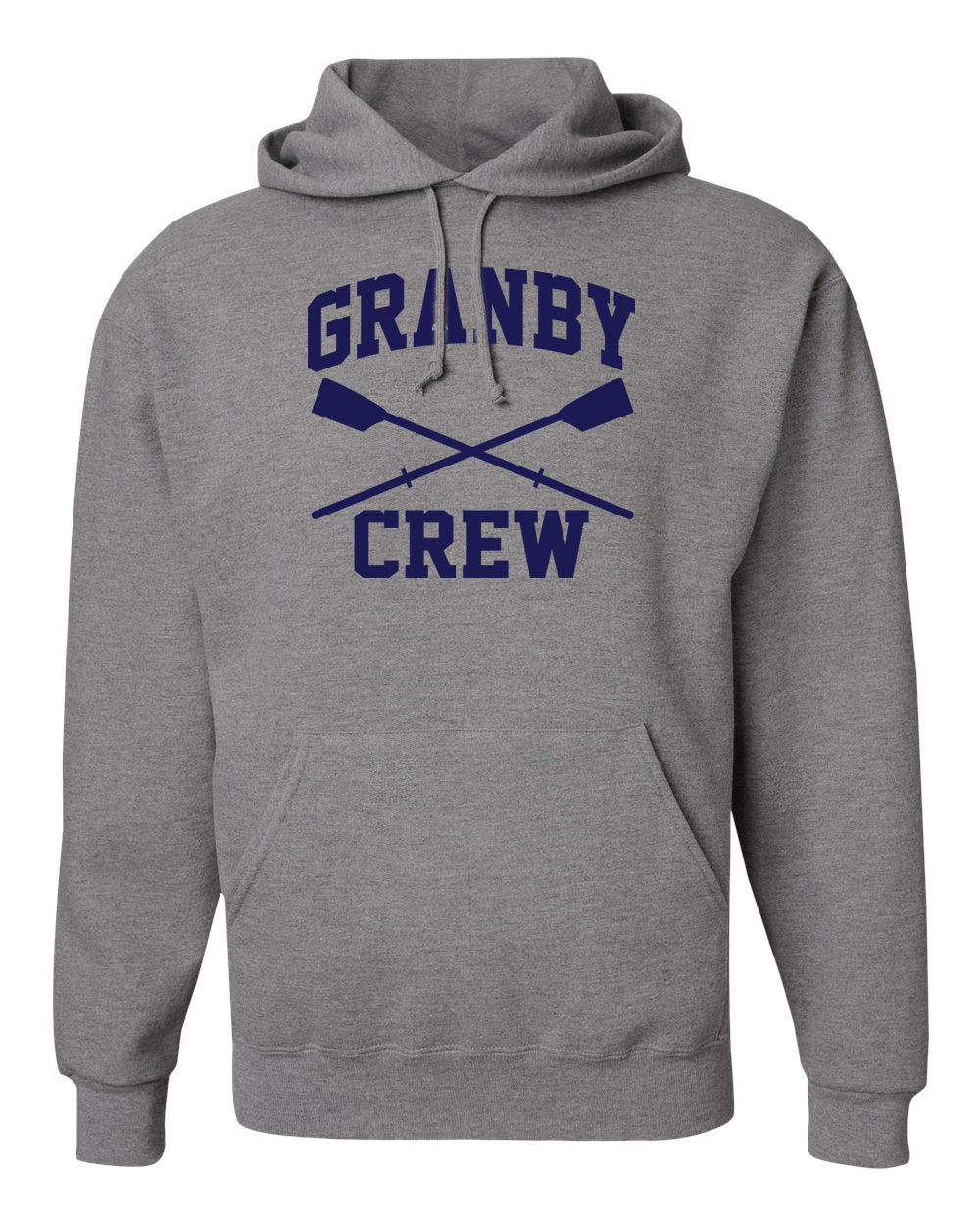50/50 Hooded Granby Crew Pullover Sweatshirt