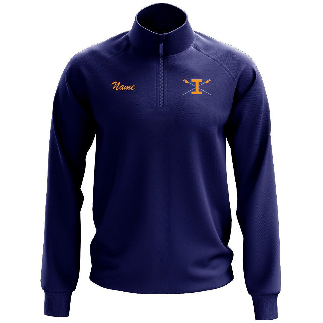 Illini Rowing Mens Performance Pullover