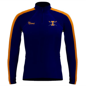 Long Sleeve Illini Rowing Warm-Up Shirt