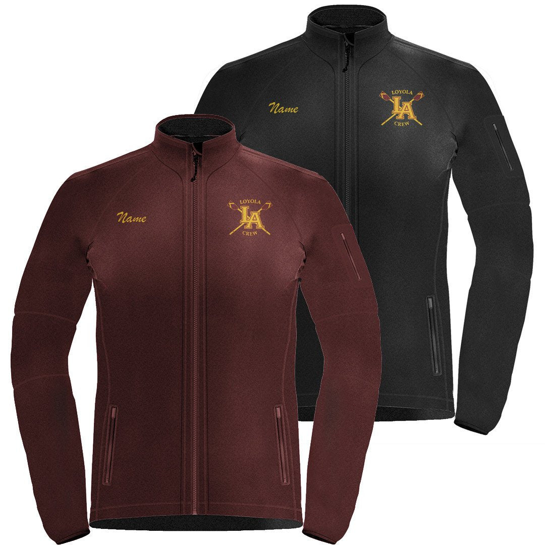 Full Zip Loyola Crew Fleece Jacket