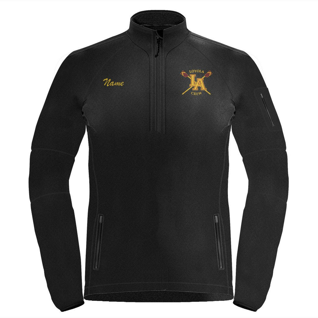 1/4 Zip Loyola Crew Fleece Pullover