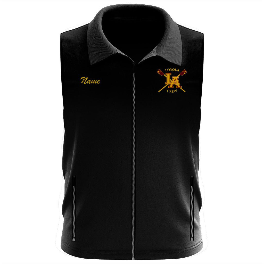 Loyola Crew Team Nylon/Fleece Vest