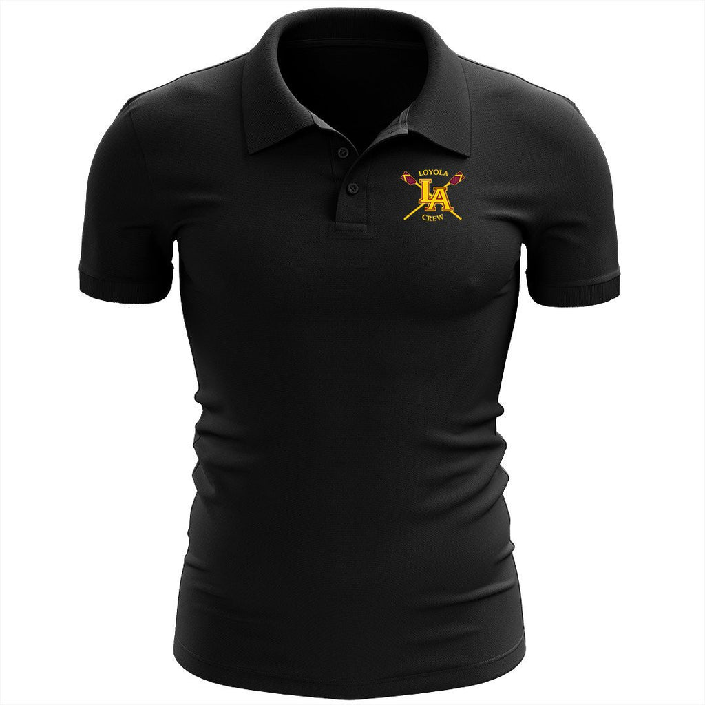 Loyola Crew Embroidered Performance Men's Polo