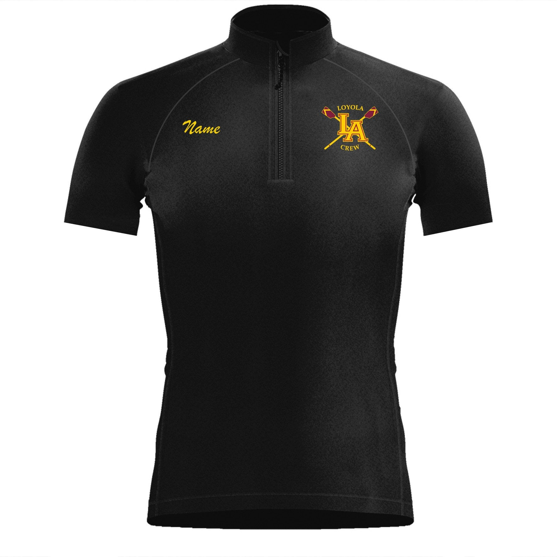 Short Sleeve Loyola Crew Warm-Up Shirt
