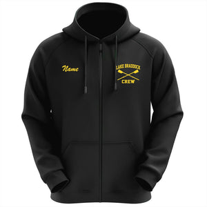 50/50 Hooded Lake Braddock Crew Full Zipper Sweatshirt