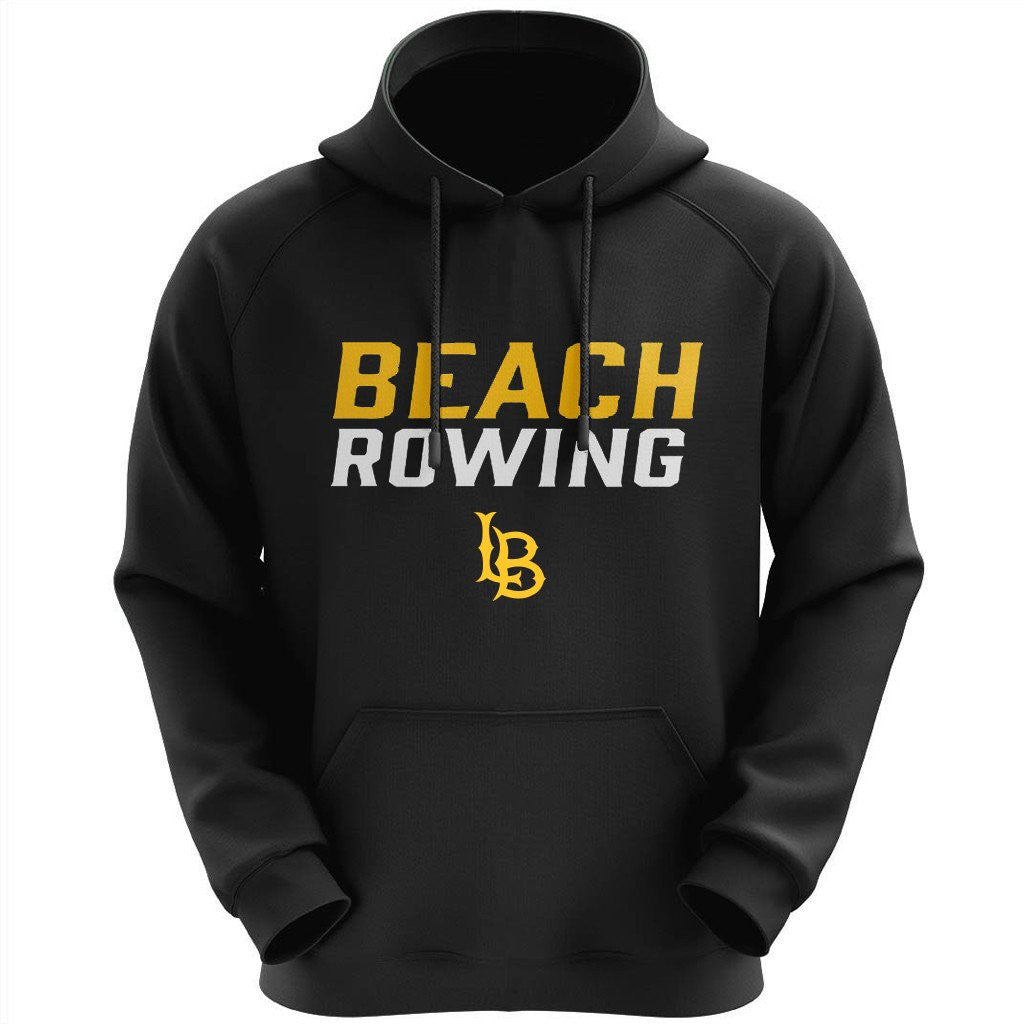 50/50 Hooded Long Beach Rowing Pullover Sweatshirt