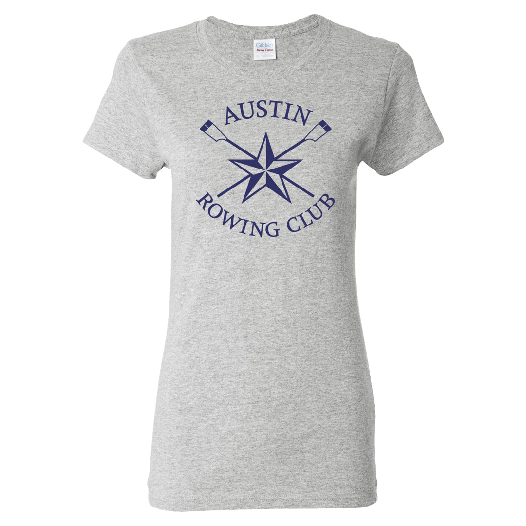 100% Cotton Austin Rowing Club Women's Team Spirit T-Shirt