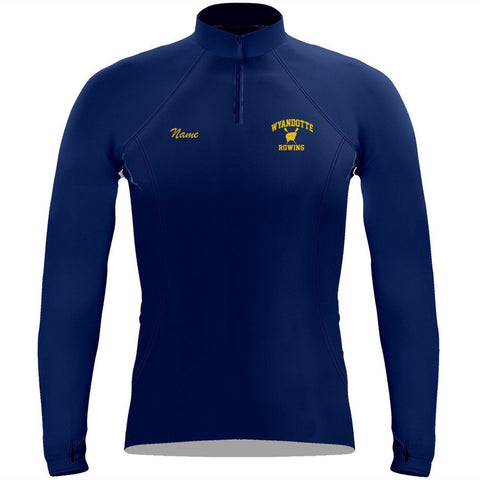 Wyandotte Rowing Ladies Pullover Sweatshirt w/ Thumbhole