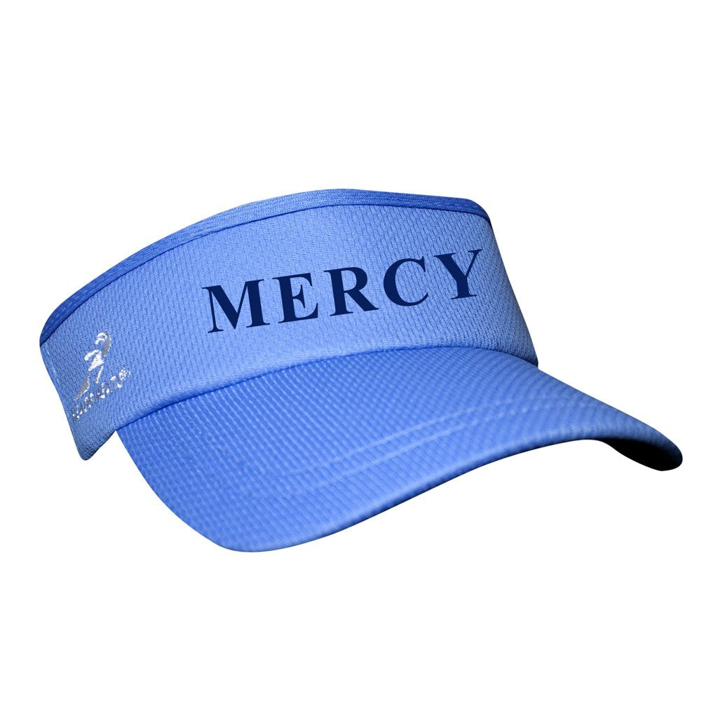Mercy Crew Team Headsweats Performance Visor - Light Blue