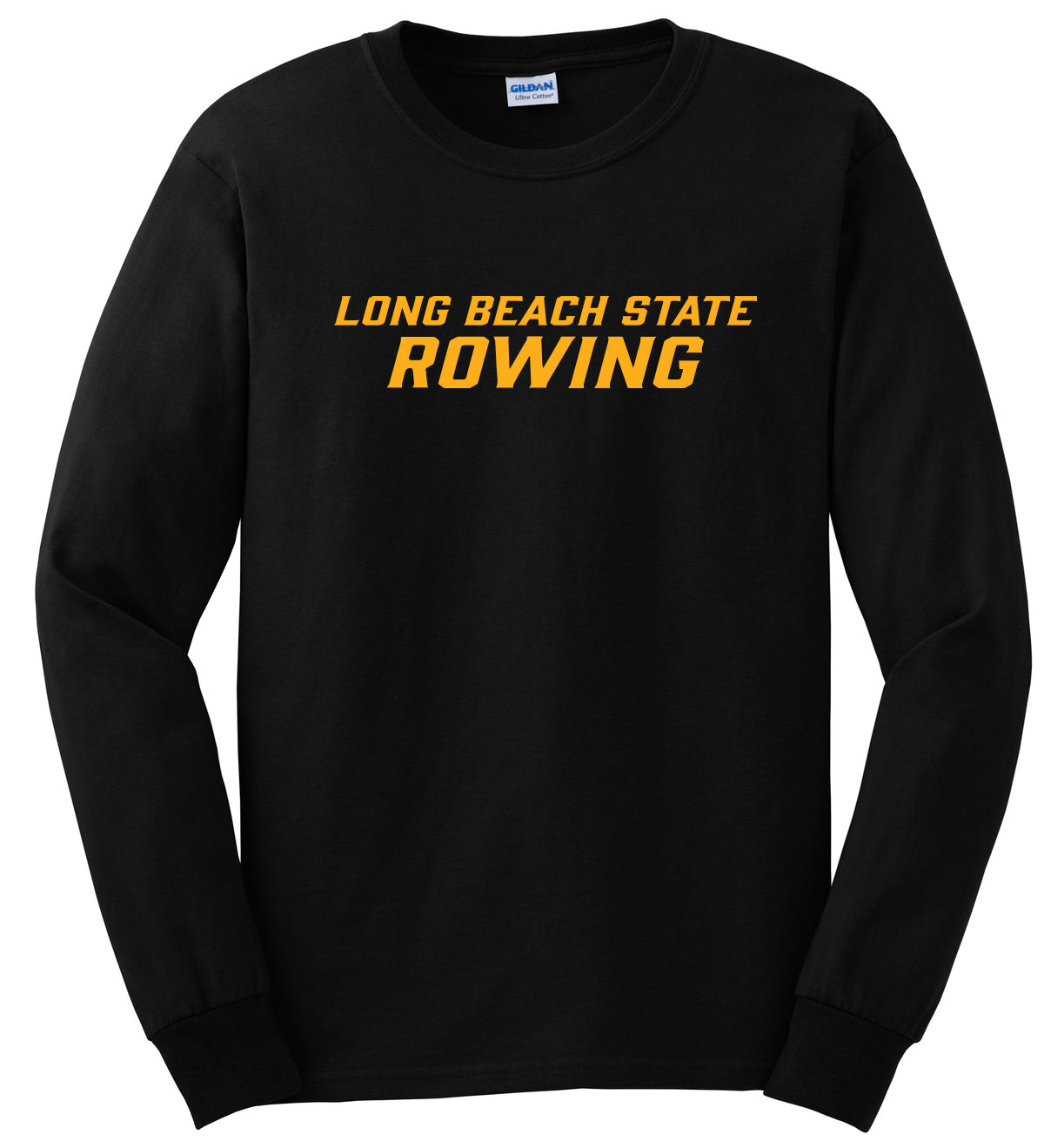Custom Long Beach Rowing Long Sleeve Cotton T-Shirt