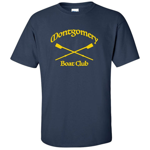 100% Cotton Montgomery Boat Club Men's Team Spirit T-Shirt