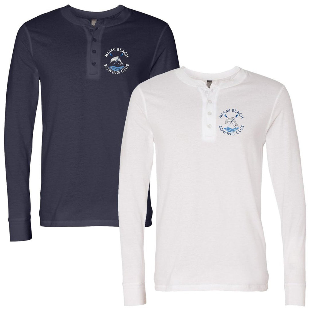 Miami Beach Long Sleeve Jersey Henley