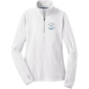 Ladies 1/4 Zip Miami Beach Fleece Pullover