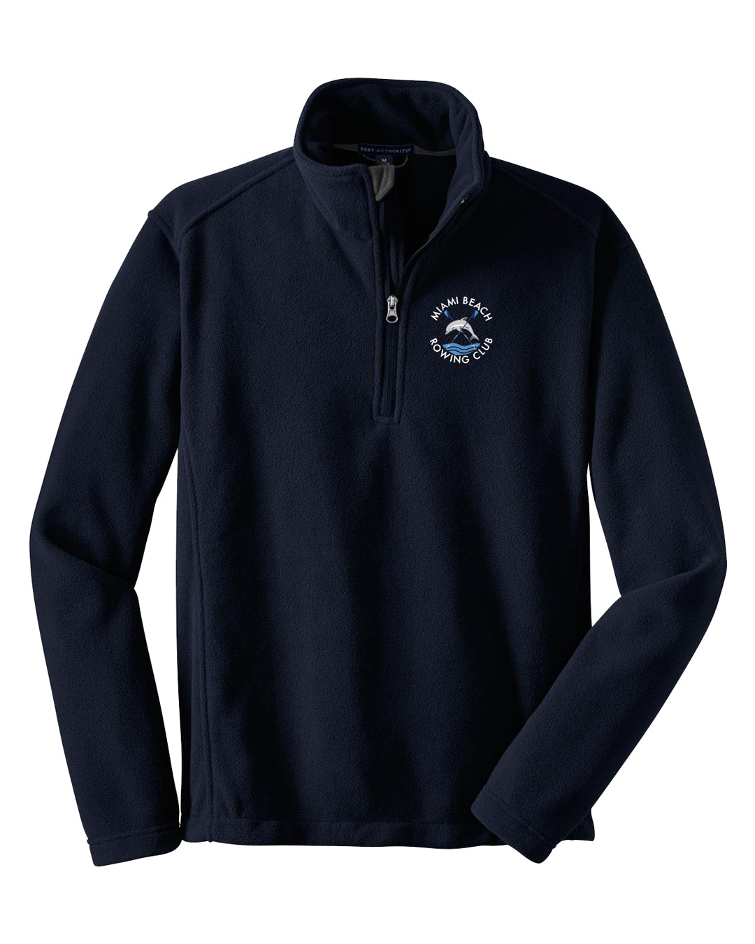 Mens 1/4 Zip Miami Beach Fleece Pullover