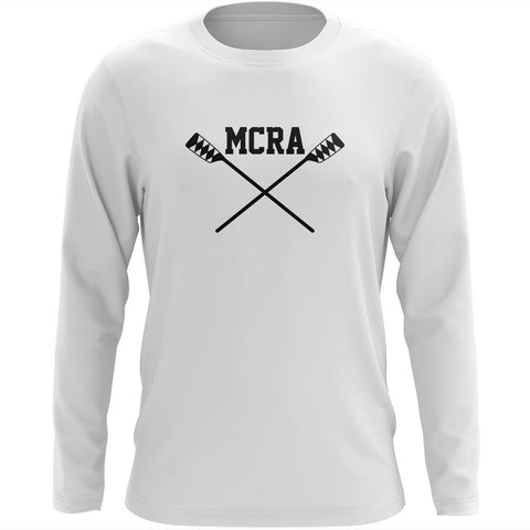 Custom Merrymeeting Rowing Long Sleeve Cotton T-Shirt