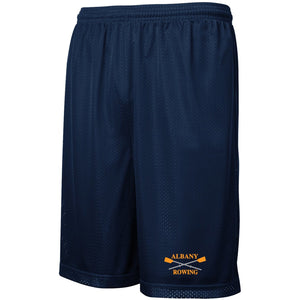 Custom Albany Rowing Center Mesh Shorts
