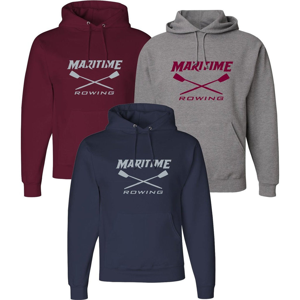 50/50 Hooded Maritime Rowing Pullover Sweatshirt