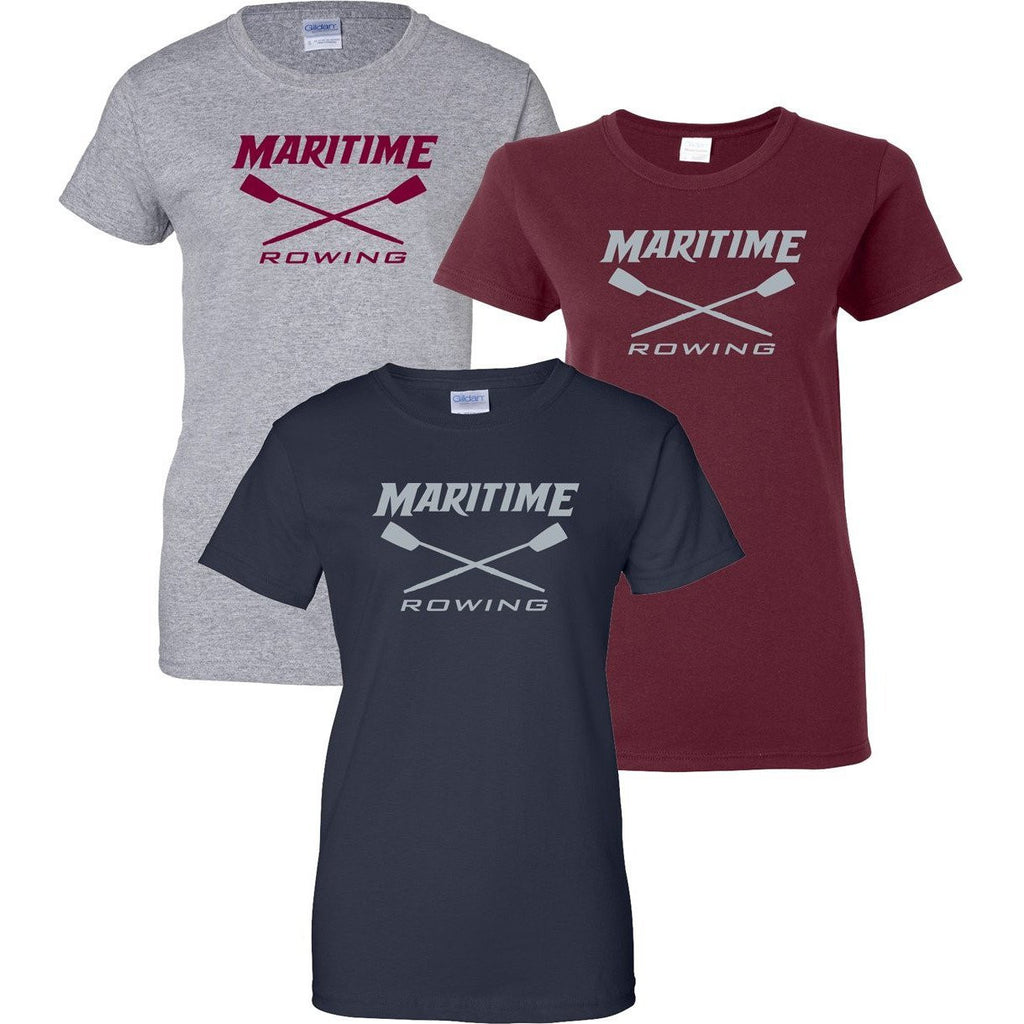100% Cotton Maritime Rowing Women's Team Spirit T-Shirt