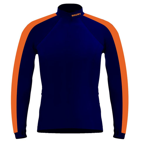 Long Sleeve Maury Crew Warm-Up Shirt