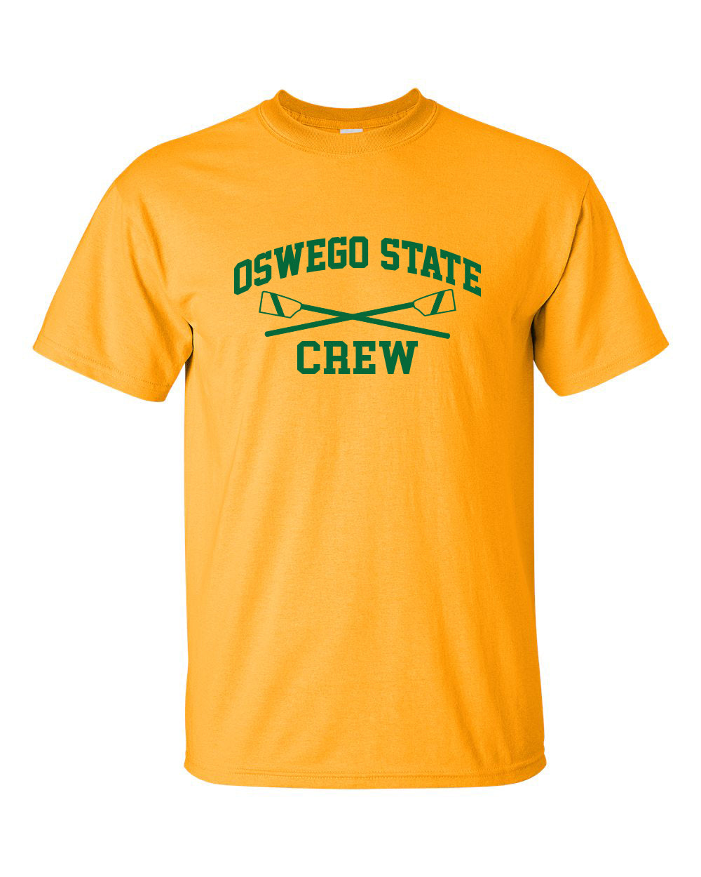 100% Cotton Oswego State Crew Men's Team Spirit T-Shirt