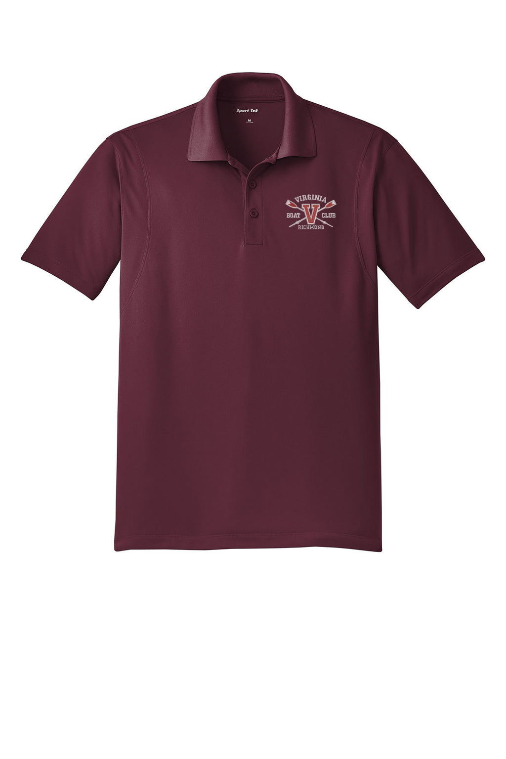 Virginia Boat Club Embroidered Performance Men's Polo