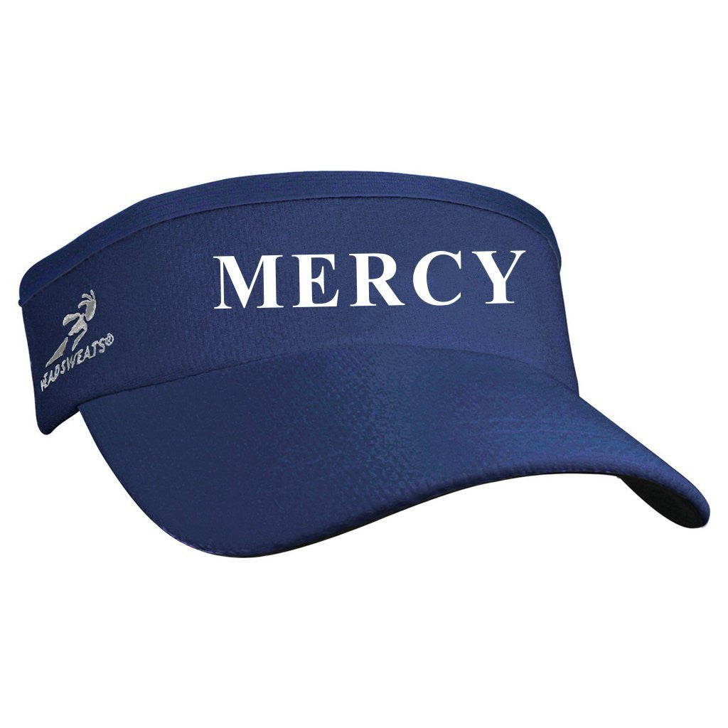 Mercy Crew Team Headsweats Performance Visor - Navy