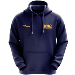 50/50 Hooded NAC Crew Pullover Sweatshirt - Navy