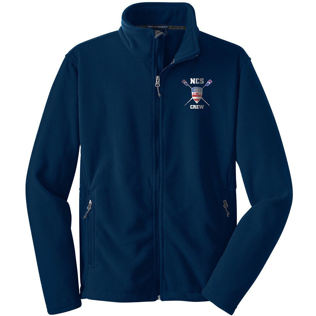 NCS Crew Fleece Fullzip Jacket Navy