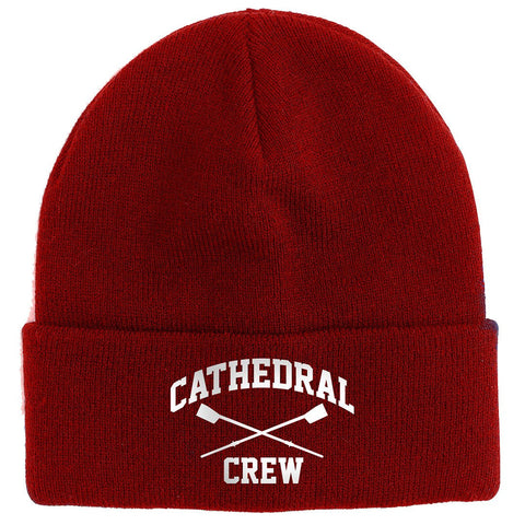 NCS Crew Cuffed Knit Beanie Red