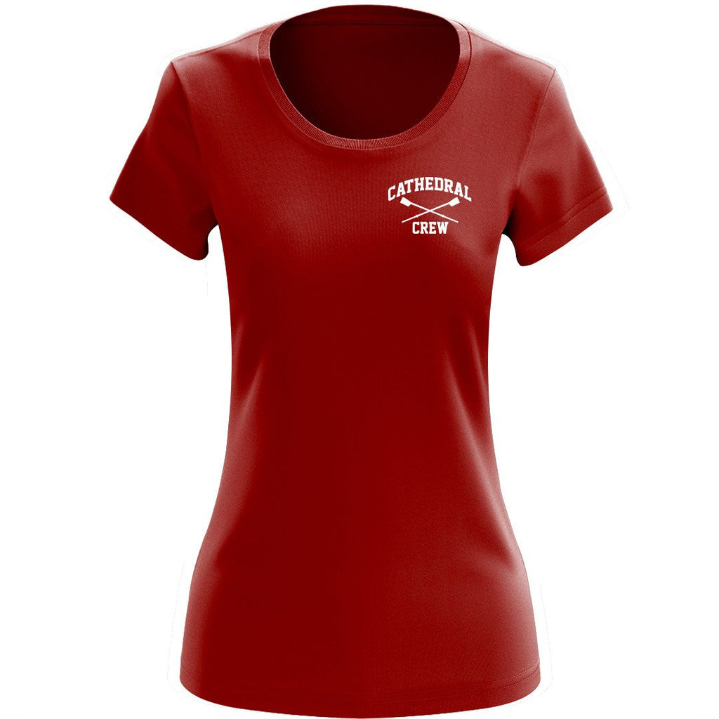 NCS jr fit Short Sleeve Tee Red