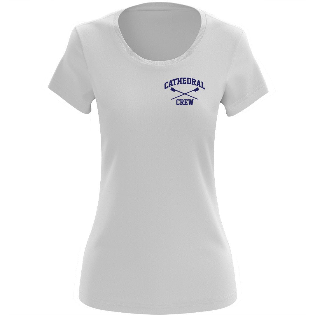 NCS jr fit Short Sleeve Tee White