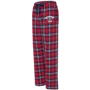 NCS Crew red/navy/white flannel pants