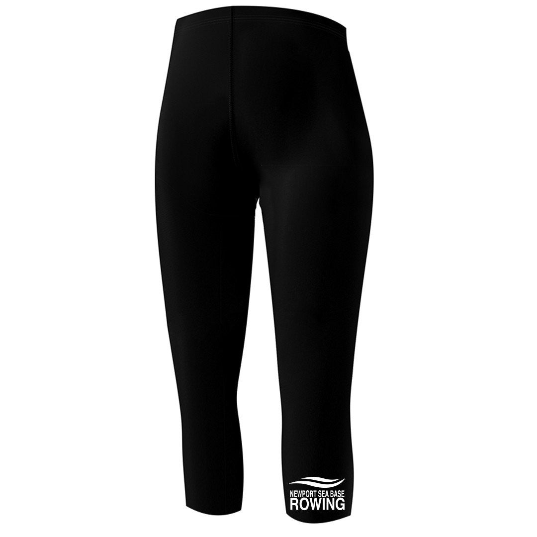 Newport Sea Base Rowing Capri Length Ladies Spandex Tights