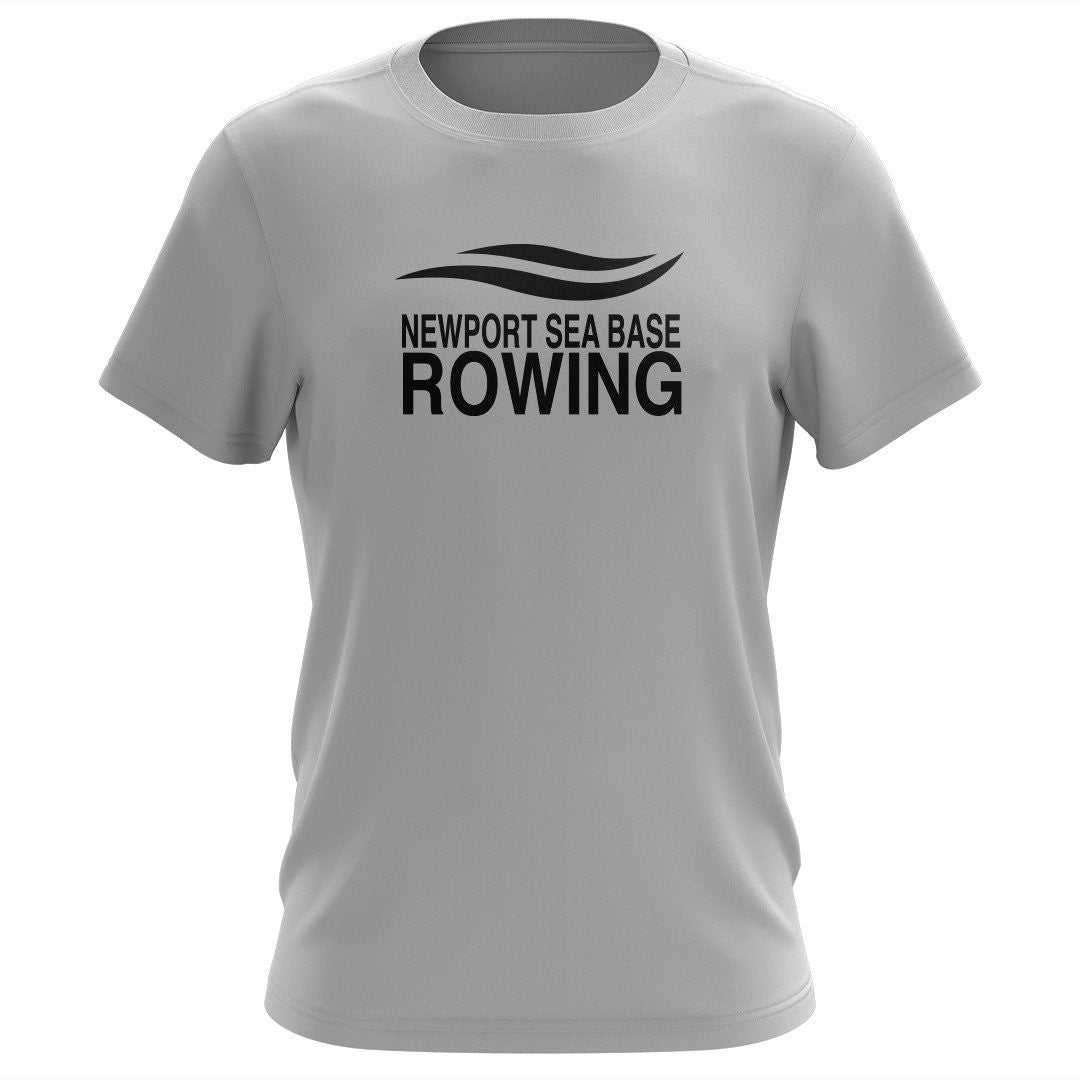 100% Cotton Newport Sea Base Rowing Men's Team Spirit T-Shirt