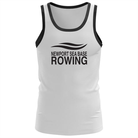 Newport Sea Base Rowing ringer Cotton Tank Top